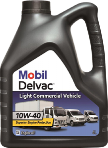 Mobil - Delvac Light Commercial Vehicle 10W-40 моторное масло