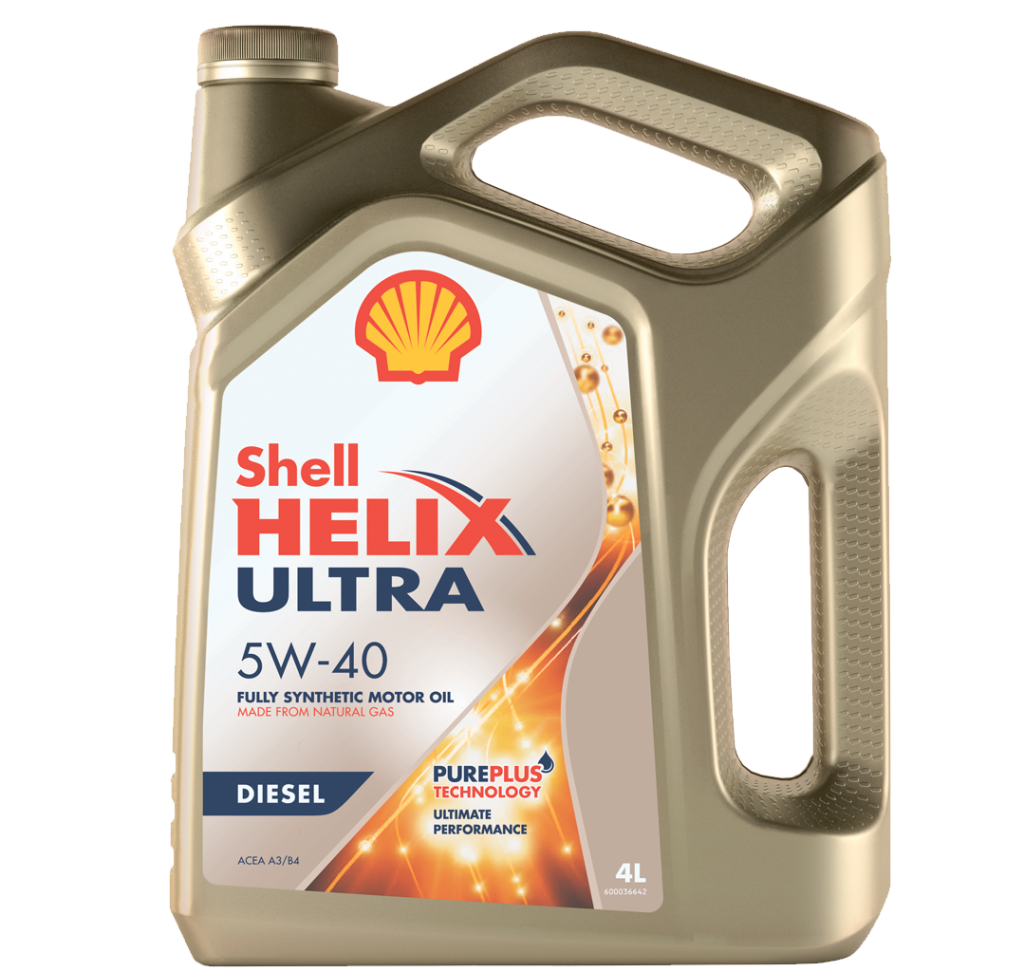Shell - Helix Ultra Diesel 5W-40 Моторное масло