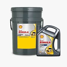 Shell - Моторное дизельное масло Rimula R6 ME 5W30