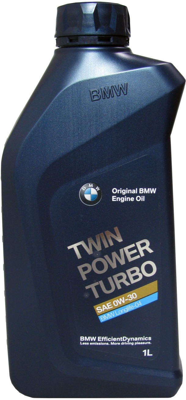 BMW - SAE 0W-30 Turbo Oil Longlife-04 1л (83212365929/83212465854) Моторное масло